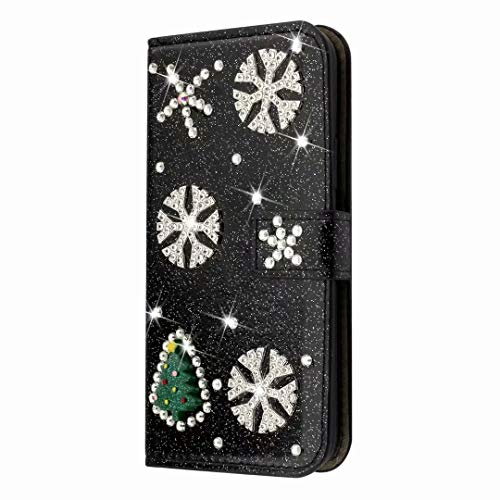Glitzer Handyhülle für Samsung Galaxy S21 Ultra 5G Hülle Bling Strass Diamant...