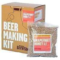 Le kit de fabrication de bière Pamplemousse Miel est parfait pour les débutants. Brooklyn Brew Shop rend la bière à la maison simple, amusante et savoureuse avec des vidéos faciles à suivre et des instructions étape par étape (français non garanti). ...