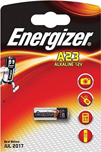 Energizer–Lote de 20pilas A23–20x Blister de 1–alcalina 12V
