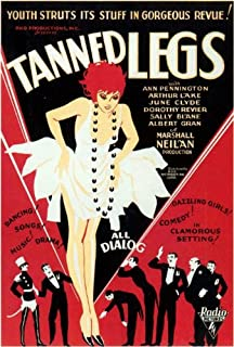 Tanned Legs POSTER Movie (27 x 40 Inches - 69cm x 102cm) (1929)