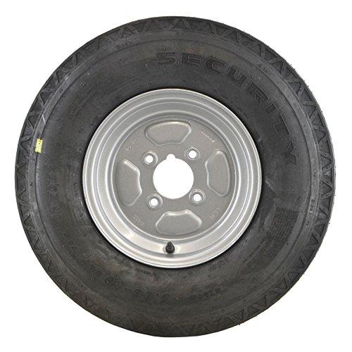 AB Tools La llanta y el neumático de Remolque 5.00 x 10 6 Telas PCD 4