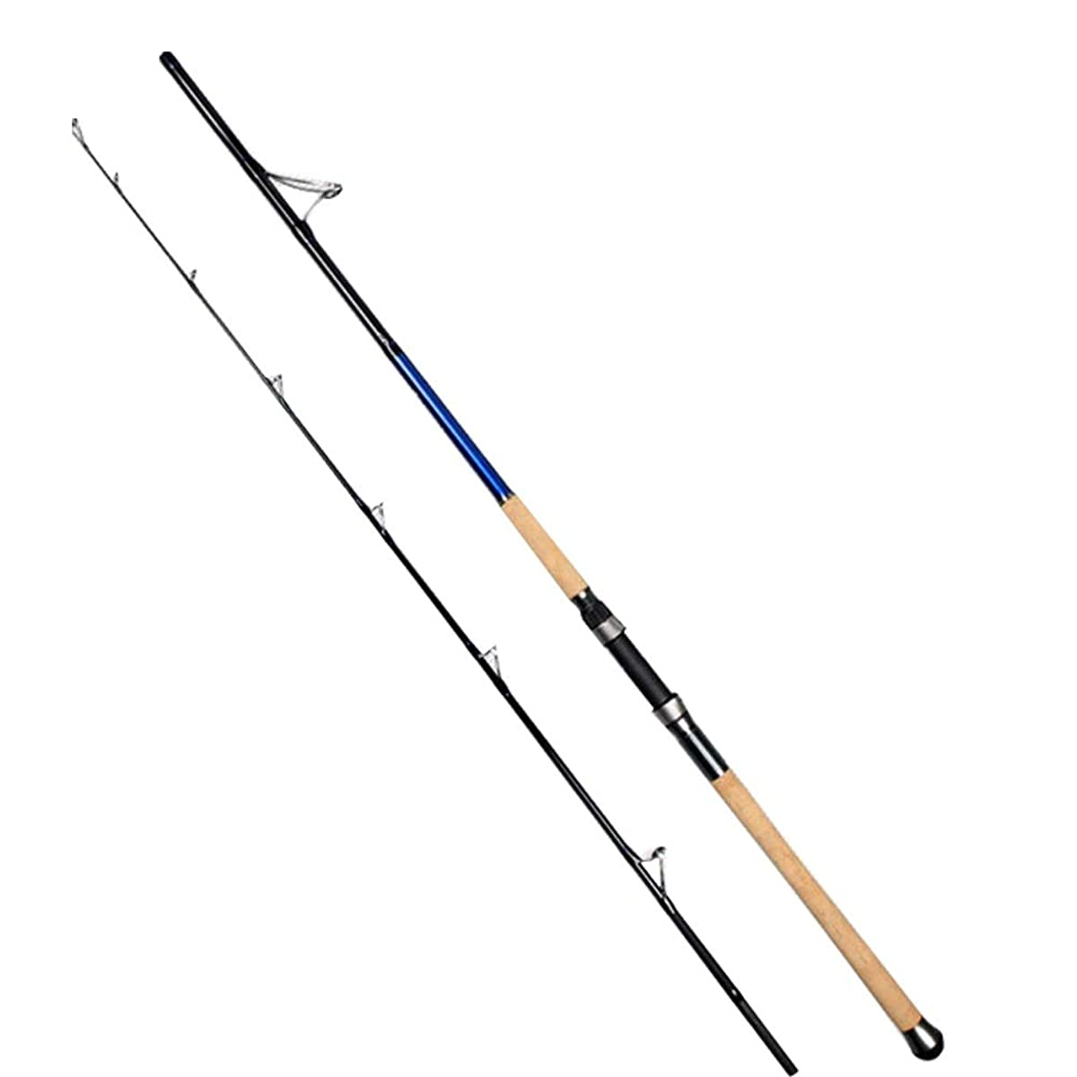 Chitty Carbon Boat Fishing Rod Iron Plate Fishing Rod Carbon Deep Sea Boat Fishing Rod 2.1 Meters Super Hard Straight Handle Lei Qiang XH Black Fishing Rod Convenient