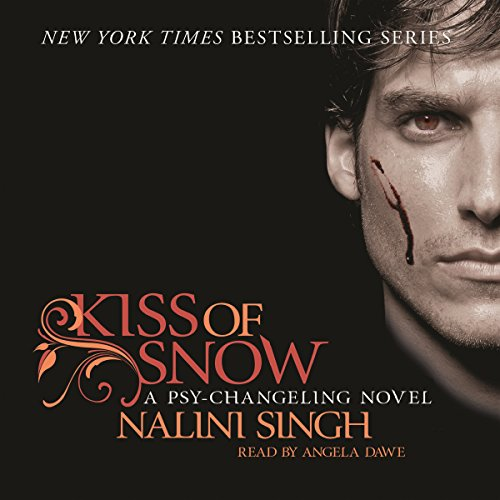Kiss of Snow audiobook cover art