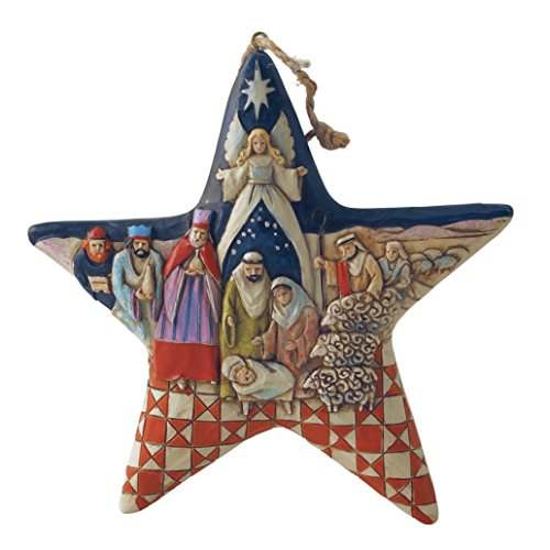 Heartwood Creek by Jim Shore - Nativity Star Hanging Ornament