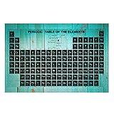 Twelve constellations Puzle de madera con diseño de sistema periódico (1000 unidades), color azul