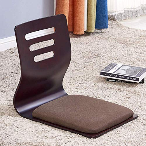 Wlehome Game Chairs, Floor Chairs, Living Room Chair, Japanese Legless Chair, Bay Window Backrest Chair Lazy Chair Cushion, Floor Chair Sofa Game Meditation Floor Seating,L