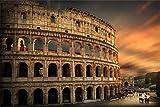 Kolosseum Rom Antike Italien XXL Wandbild Kunstdruck Foto