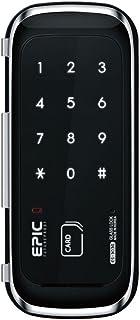 EPIC 電子錠 ES-303G 強化ガラス専用 開錠方法:暗証番号/Mifare ICカード(taspo使用可)