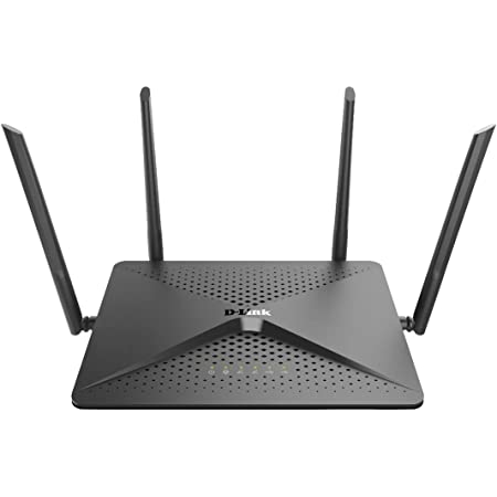 D-Link DIR-882 - Router WiFi Gaming AC2600 MU-MIMO (Dual-Band, 2600 Mbps, 4 Puertos LAN + 1 Puerto de Internet, RJ45 Gigabit 10/100/1000 Mbps, Wave 2, ...