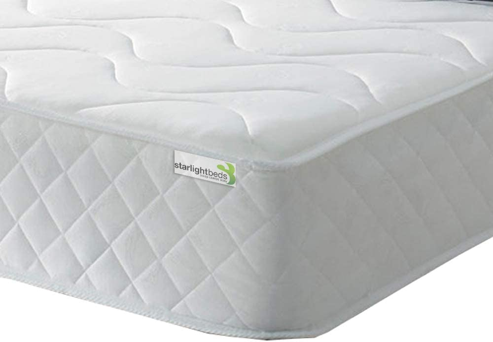 Starlight Beds King Size Memory Foam Mattress 5ft x 6ft6 King size Mattresses Containing Springs with a Layer of Memory Foam Kingsize Mattress