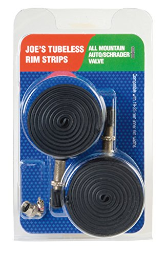 Joes All Mountain Bike 180159 Rim Strips -  Juego de 2 flats de ciclismo (sin camara)