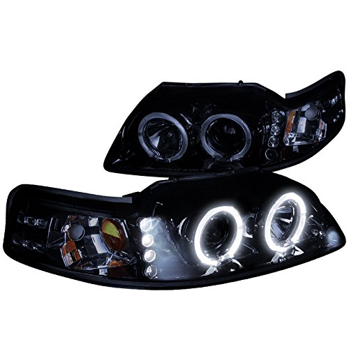 03 mustang halo headlights - 9