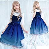 Yuncheng Lolita Robe Cupcake Purse Robes Lolita Lolita Robe Gradient Gradient Gaze Robe Princesse Kawaii Fille Gothique Lolita jsk Adulte Adulte Anime Robes loli Robes Cosplay Costume