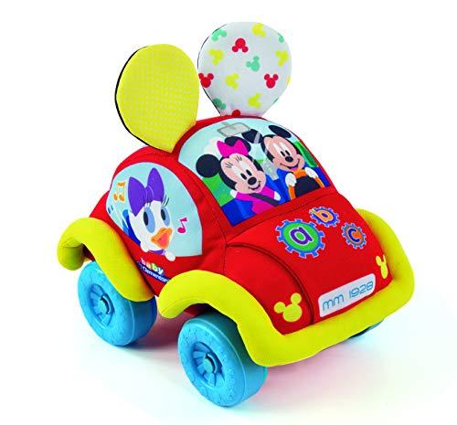 Baby Clementoni- Baby Disney Coche Blandito Interactivo, Multicolor (Clementoni Spain 55259)
