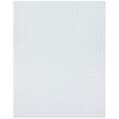 Darice #7 Mesh Plastic Canvas Ultra Stiff Clear 10-1/2 x 13-1/2 (6-Pack) 33418-1
