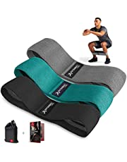 arteesol Booty Bands voor vrouwen en mannen, anti-slip Glute Band Non-Latex Resistance Bands Sets Squats Oefening Hip Booty Bands voor training, Fitness, Yoga,Training,Pilates|Met 3 Resistance Niveaus