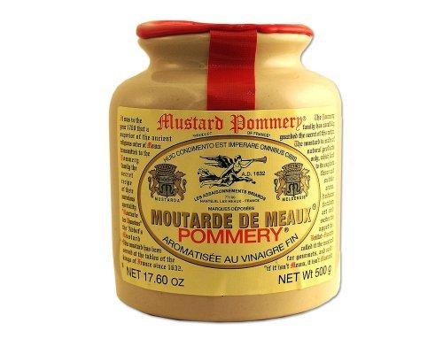Pommery Classic 500 g Pommery Senf Meaux Moutarde in Töpferei, Six von Pommery