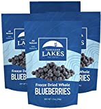 4 individual re-sealable pouches, 1.2 oz each, 4.8 oz total; freeze dried whole blueberries JUST BLUEBERRIES – no sugar added, no sulfites or other preservatives, no artificial flavors! Excellent source of fiber. 100% blueberries. FRUIT ON THE GO! A ...