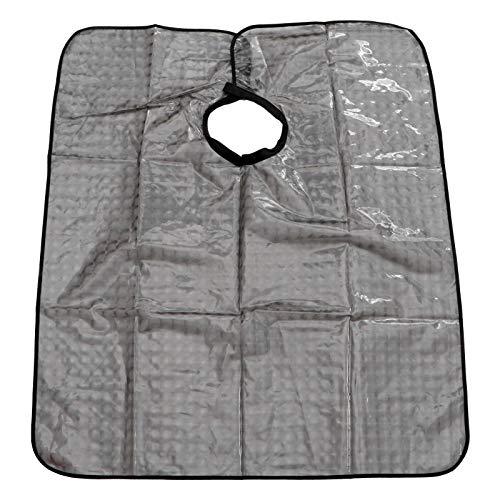 FRCOLOR Capas de Corte de Pelo para Adultos Niños Peluquero Capa de Peluquería Capa Impermeable Corte de Pelo Cubierta Vestido Delantal Chal para Peluquero