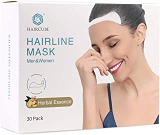 Hair Growth For Men Women Hairline Mask Hair Loss 30 Pack Mask Scalp Care with Patent Pure Natural Plant Ginger Juice Essence HM30H