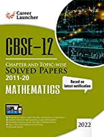 CBSE Class XII 2021 - Chapter and Topic-wise Solved Papers 2011-2020: Mathematics (All Sets - Delhi & All India) - Double Colour Matter