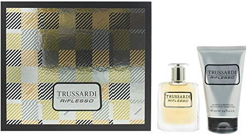 Trussardi Riflesso Geschenkset 50 ml EDT + 100 ml Duschgel
