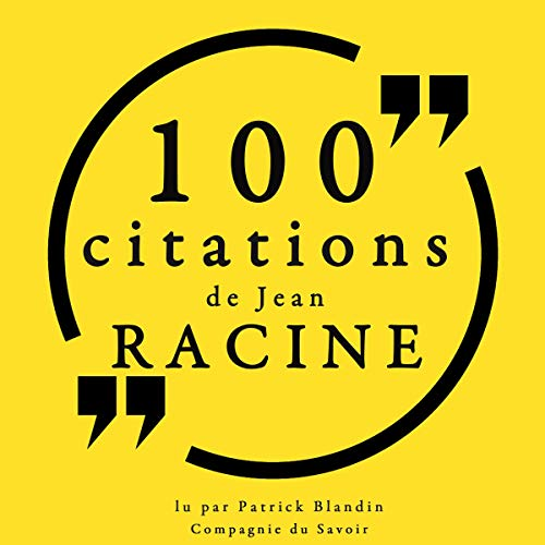 100 citations de Jean Racine Titelbild