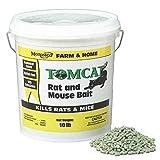 Motomco 008-32345 Tomcat Rat and Mouse Bait Pellet, 10 lb (2 X 10 lb)