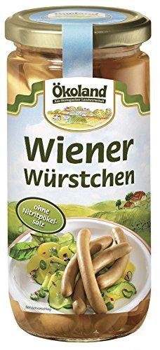 Ökoland Wiener Würstchen, 3er Pack (3 x 180 g)