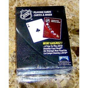 New Sealed Deck Bicycle Brand Nhl Playing Cards by Playing Cards