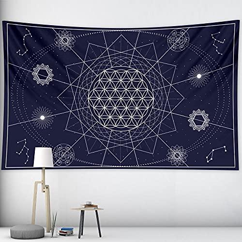 Tapiz De Sol Y Luna Mural Mandala Brujería Tapiz Indio Decoración Bohemia Hippie Decoración Del Hogar Qyy-205