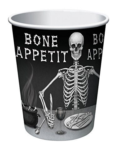 Forum Novelties X78946 Bone Appetit Tasses, Multicolore, taille unique