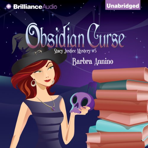 Obsidian Curse audiobook cover art