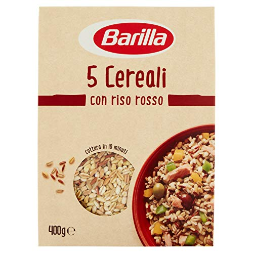 Barilla Mix 5 Cereali con Riso Rosso, Croccanti e Fonte di...