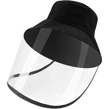 Pantalla facial antiviento 3 unidades transparente cubierta transparente visera de barrera facial antivaho para todo el mundo antipolvo protector facial ajustable