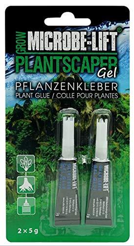 Microbe-Lift Plantscaper - Plantscaper voor mos en planten, aquariumlijm, aquascaping, zeer zuinig, voor elk zoet water aquarium, 2 x 5 g.