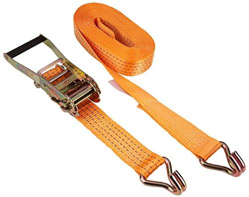 Kerbl 37144 ratelspanband 2-delig 50 mm / 6 m, trekkracht 4000 kg, oranje
