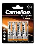 Camelion 17027406 Akku (NiMH, R6, Mignon, AA, 2700 mAh,