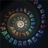 ZZXSY Puzzle Adulto 1000 Piezas Vidrieras De Colores Surtidos Adecuado para Regalos De Año Nuevo