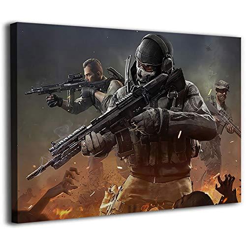 Póster de Guerrero de Call of Duty (30,5 x 20,3 cm)