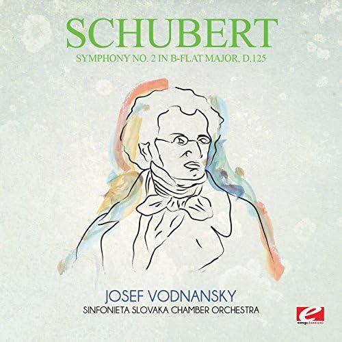 Sinfonieta Slovaka Chamber Orchestra & Josef Vodnansky