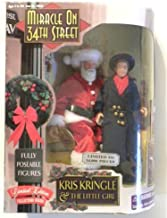 Exclusive Premiere Miracle on 34th Street Fully Poseable Figures: Kris Kringle & The Little Girl