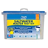 The most commonly purchased test kit is the Saltwater Master Test Kit from API