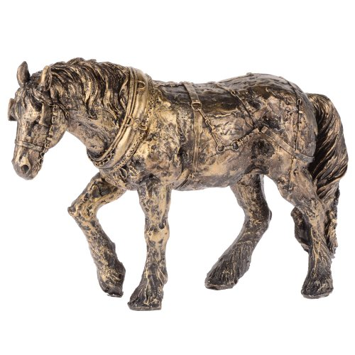 Gleneagles Bronzen Finish Shire Paard