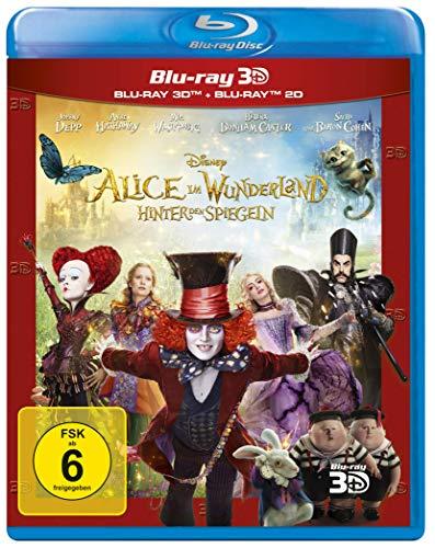 Alice im Wunderland - Hinter den Spiegeln: Blu-ray 3D + 2D