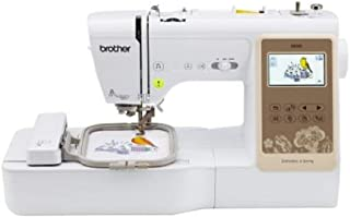 Brother SE625 Combination Computerized Sewing and 4x4 Embroidery Machine with Color LCD Display, 280 Total Embroidery Desi...