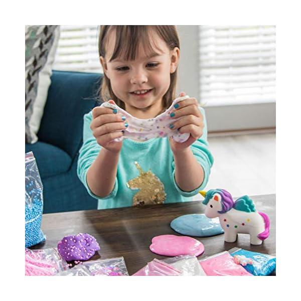Unicorn Slime Kit for Girls - Ultimate DIY Slime Making Kit and Add Ins to Make Rainbow Unicorn Slime, Crystal Unicorn… 5