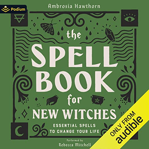 The Spell Book for New Witches cover art