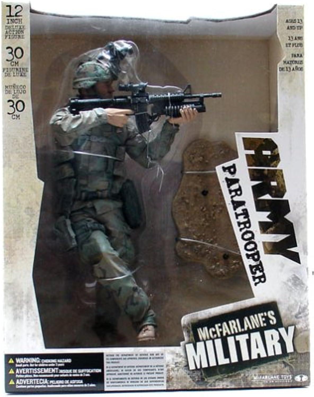 McFarlane Military 30cm Figur - Army Paratrooper