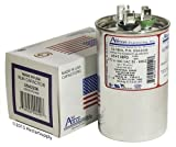 Goodman CAP050450440RTP • 45 + 5 uf / Mfd 370 / 440 VAC AmRad Replacement Round Dual Universal Capacitor • Made in the U.S.A.